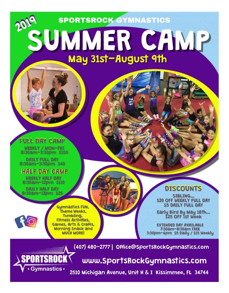 Gymnastics Summer Camps 2020.Summer Gymnastics Camp